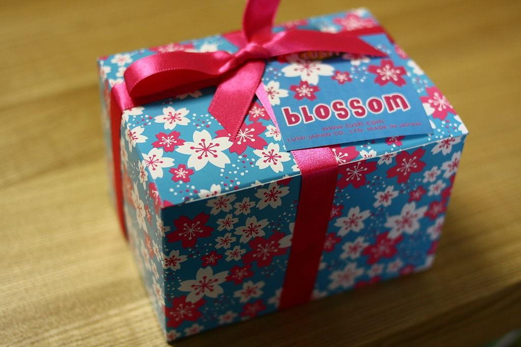 cadeau met strik