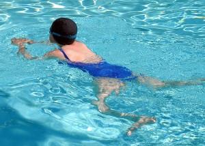 zwemles, foto publiek domein wikipedia