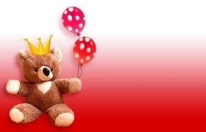 beer met ballonnen