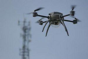 drone in de lucht