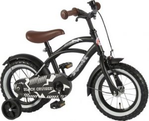 kinderfiets jongens black cruiser